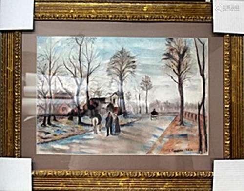 Pastel Drawing - Camille Pissarro