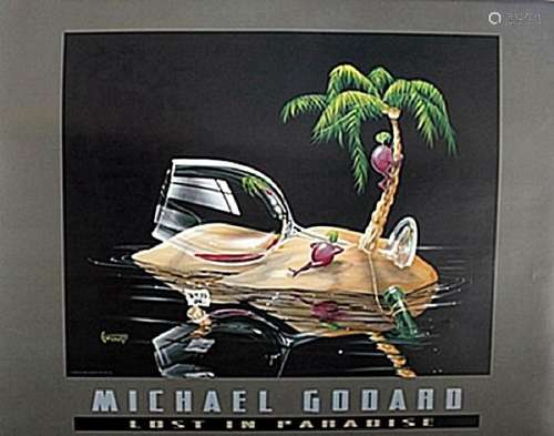 """""""Lost in Paradise""""  after Michael Godard"""