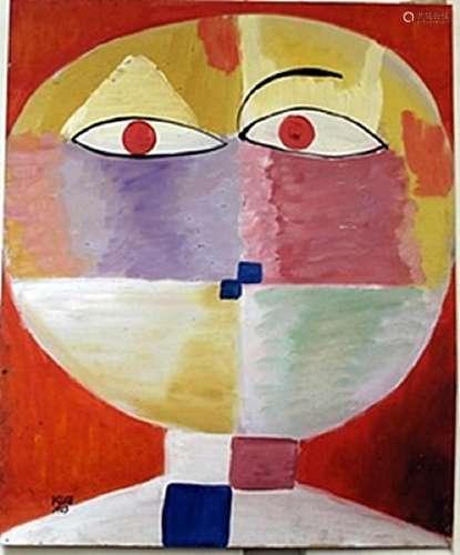 Oil Painting on Paper -  Paul Klee