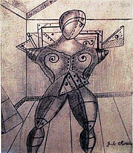 Giorgio De Chirico - The Gladiator