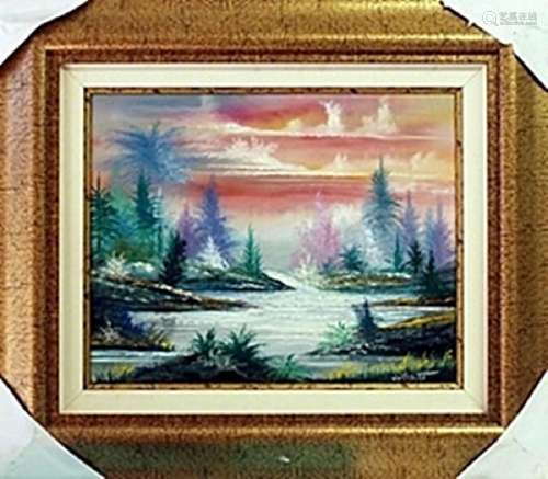 Original Oil Painting on Canvas William Verdult