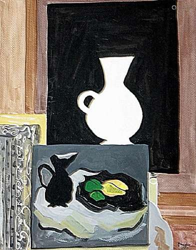 The painting - George Braque - Watercolor