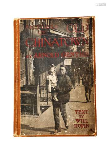 A BOOK OF 'PICTURES OF CHINA TOWN' BY ARNOLD GENTHE IN1908.B031.