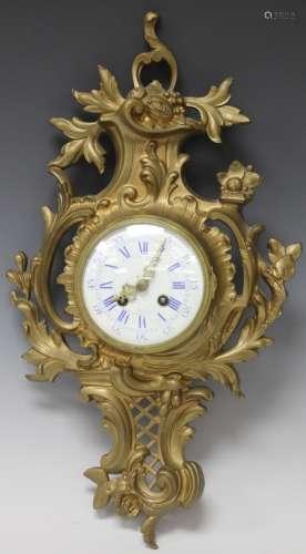 19TH CENTURY FRENCH BRONZE FIGURAL CLOCK, 20