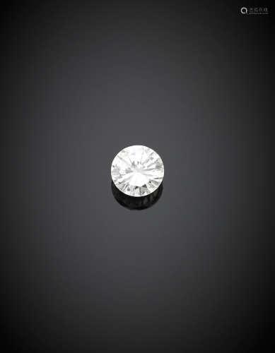 Round brilliant cut ct. 1.19 diamond, H colour, VVS2.Appended diamond report CISGEM n. 7406IAAB 22/09/2017, Milano