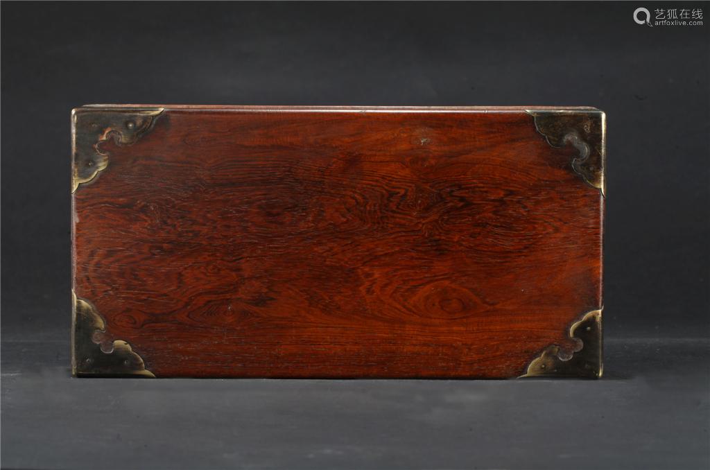 黄花梨苏工大提盒
