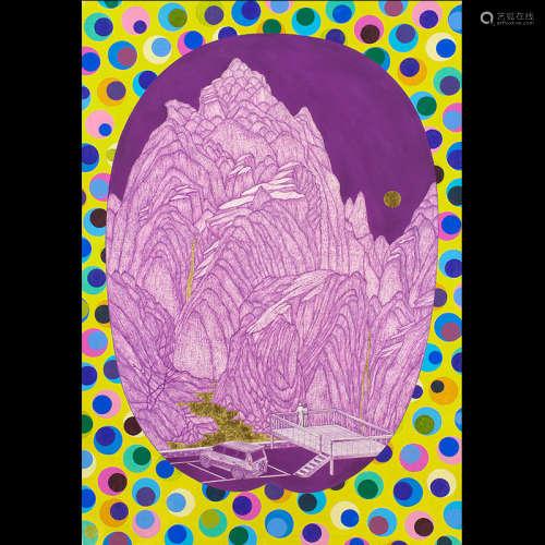 姚瑞中(b.1969)七星伴月