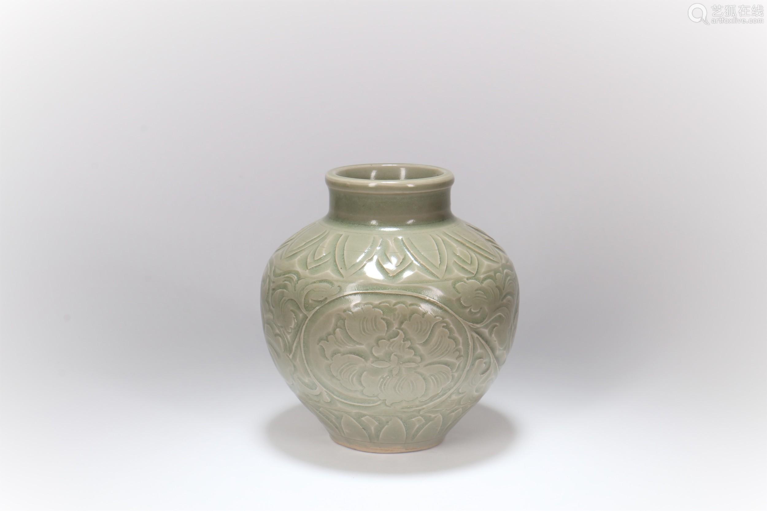 A Chinese Celadon Porcelain Jar