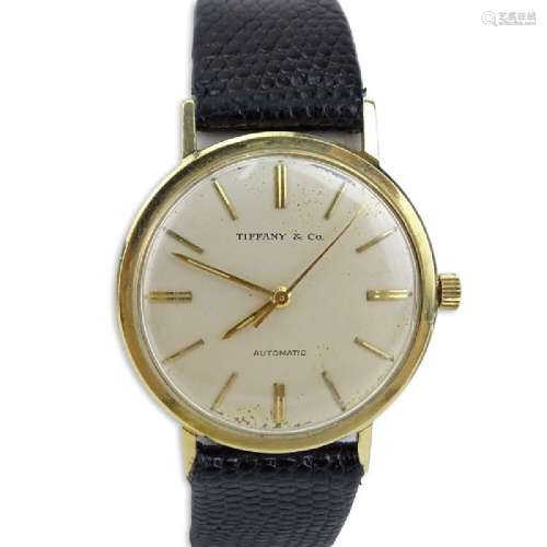 Vintage Tiffany & Co Men's Watch with Automatic