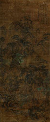 王翚 古代 山水 纸本立轴
