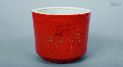红釉炉(筒炉)