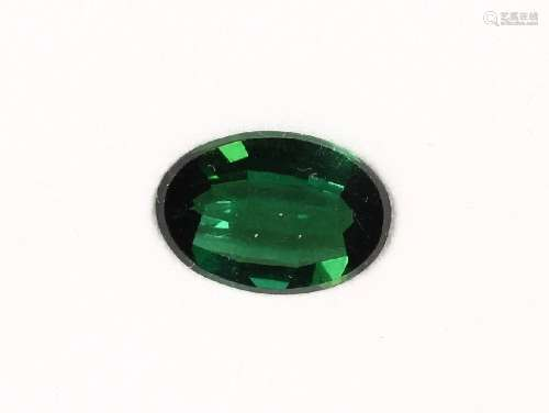 Loose oval bevelled tourmaline approx. 5.23 ct