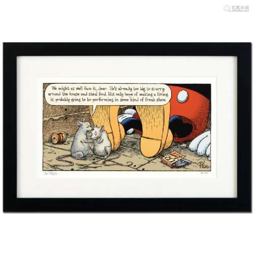 Bizarro! Mickey's Parents is a Framed Limited Edition