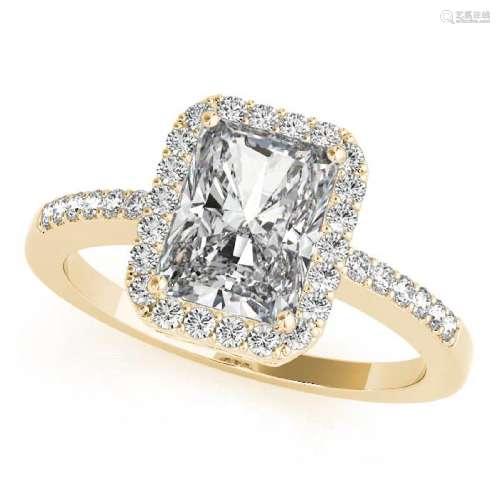 CERTIFIED 18KT WHITE GOLD 1.00 CT G-H/VS-SI1 DIAMOND HA