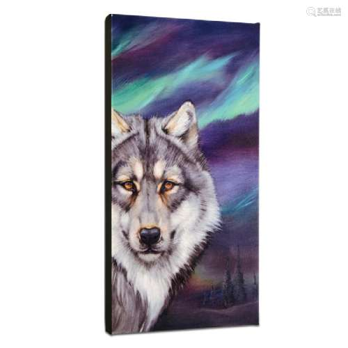 Wolf Lights Limited Edition Giclee on Gallery Wrapped
