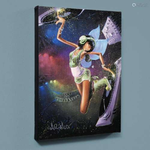 Tinkerbell LIMITED EDITION Giclee on Canvas by David