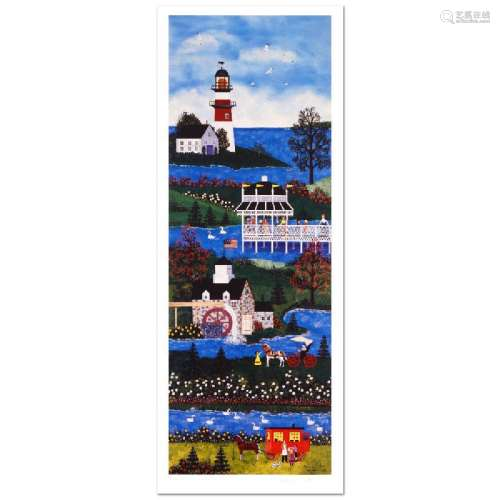 Springtime Cheer Limited Edition Lithograph by Jane