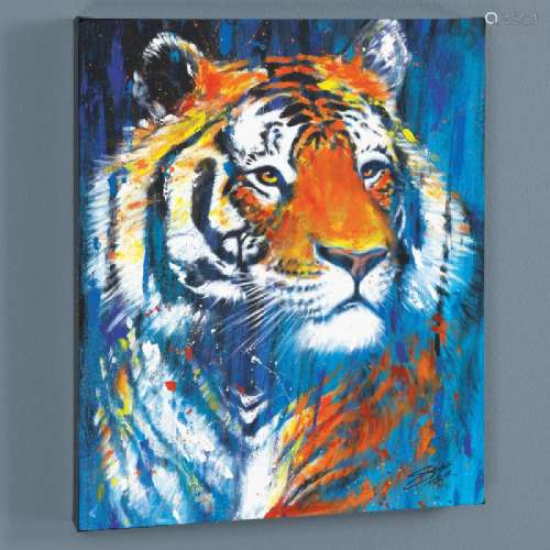 Nala LIMITED EDITION Giclee on Canvas by Stephen