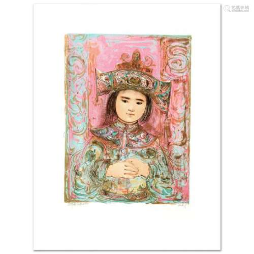 Child of the East Limited Edition Lithograph by Edna