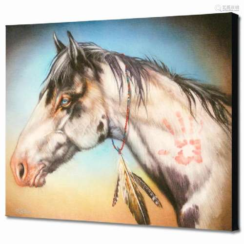 Hand Healer Limited Edition Giclee on Canvas by