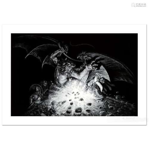 Gandalf Versus Balrog Limited Edition Giclee by Greg