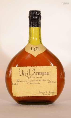 1 bottle 1971 Armagnac