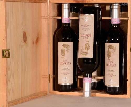 6 bottles 2001 Rocche