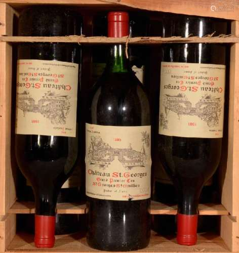 6 magnum bottles 1985 Saint Georges