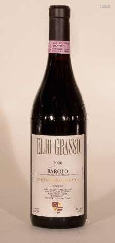 6 bottles 2000 Elio Grasso