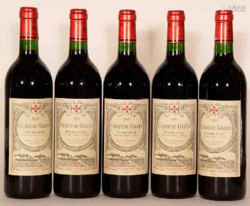 5 bottles 1995 Ganzin