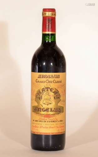 1 bottle 1992 Chateau Angelus