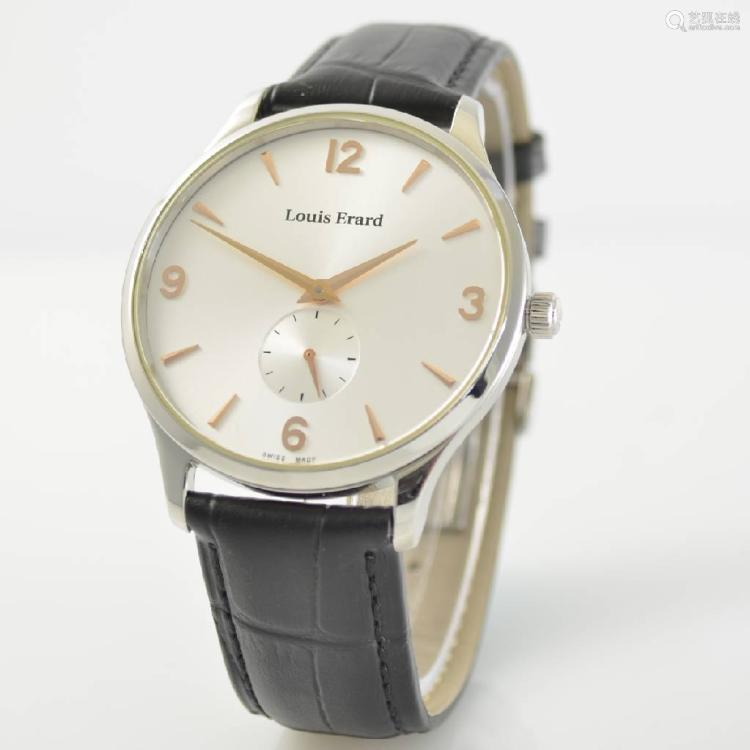 LOUIS ERARD gents wristwatch, Switzerland around 2015