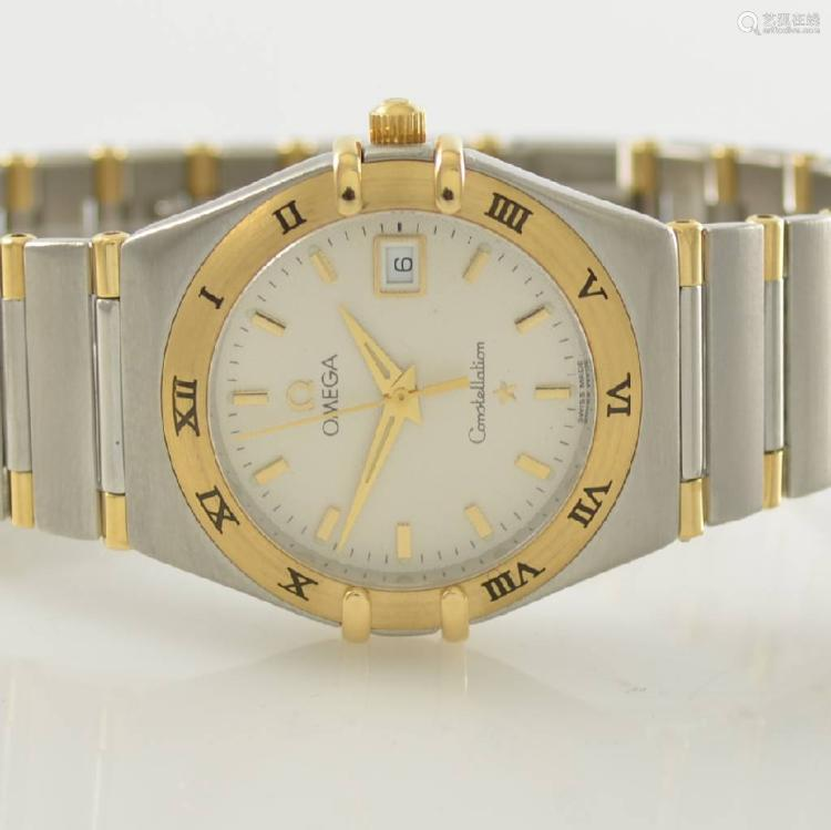 OMEGA Constellation ladies wristwatch in steel/gold