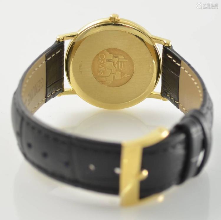 OMEGA 18k yellow gold wristwatch series De Ville