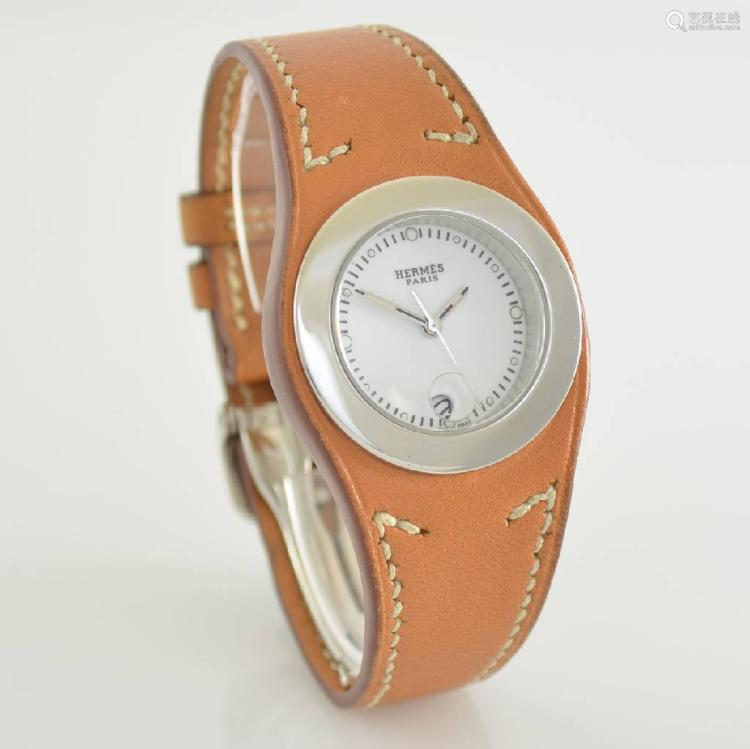 HERMES ladies wristwatch model Harnais