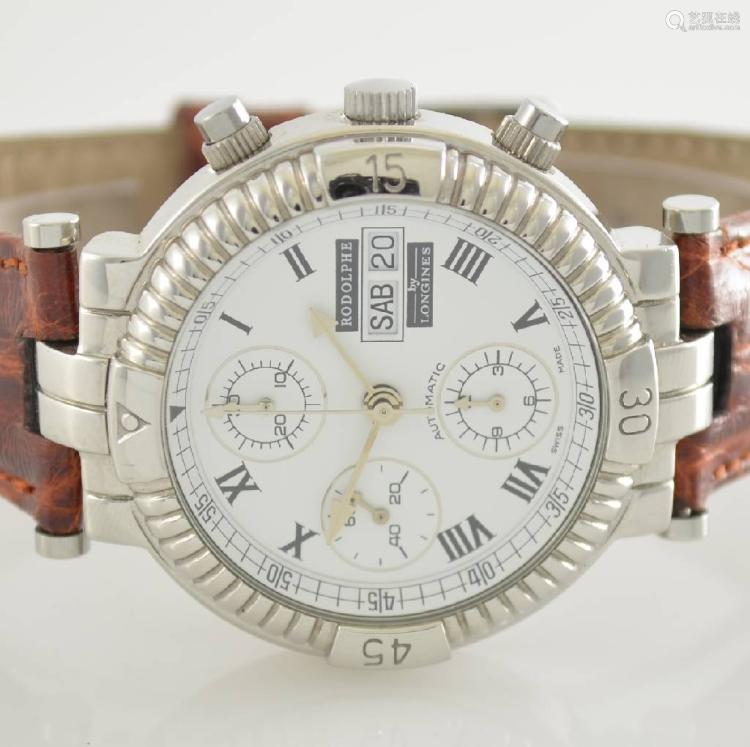 RODOLPHE by Longines self winding chronograph