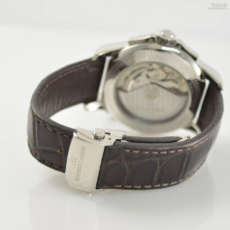MAURICE LACROIX Pontos gents wristwatch with chronograph