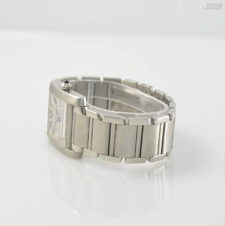 CARTIER Tank Francaise wristwatch