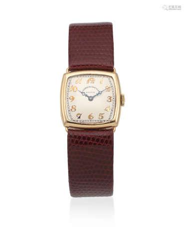 London Import mark for 1920  Vacheron & Constantin. A lady's 18K gold manual wind wristwatch