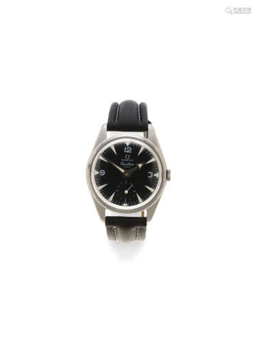 Ranchero, Ref: 2990 1, Circa 1958  Omega. A stainless steel manual wind wristwatch