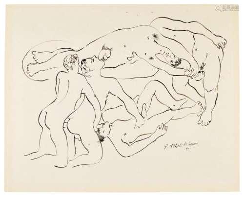 PAVEL TCHELITCHEW | Erotic Scene
