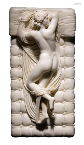 FRENCH, EARLY 19TH CENTURY AFTER THE ANTIQUE   The Sleeping Hermaphrodite