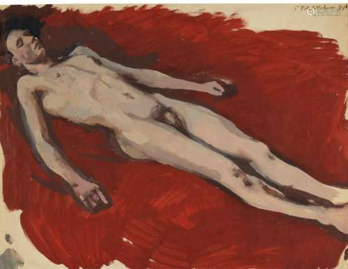 PAVEL TCHELITCHEW | Male Nude