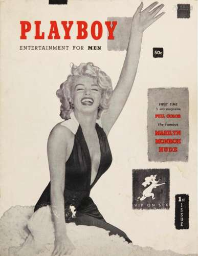 PLAYBOY ISSUE #1, [DECEMBER 1953], WITH MARILYN MONROE COVER