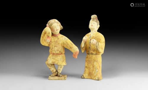 Chinese Tang Dancer Pair