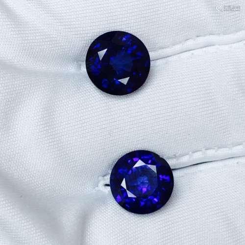 10.20 Carat, Natural Blue Sapphire Stones