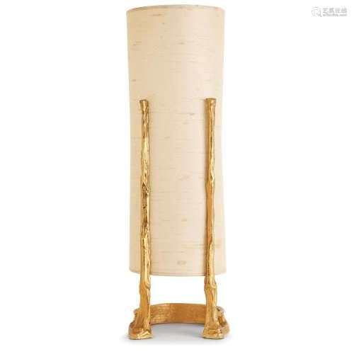 FÉLIX AGOSTINI (1910-1980) Lampe à poser