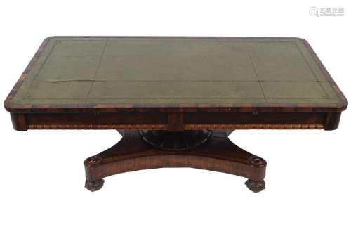 WILLIAM IV PERIOD ROSEWOOD LOW TABLE