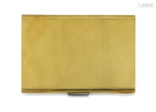 YELLOW GOLD CIGARETTE CASE