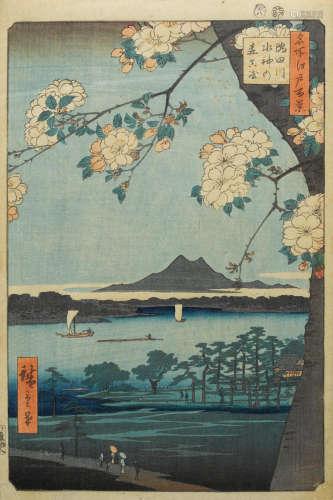 Edo period (1615-1868), circa 1833-1856 Utagawa Hiroshige I (1797-1858)